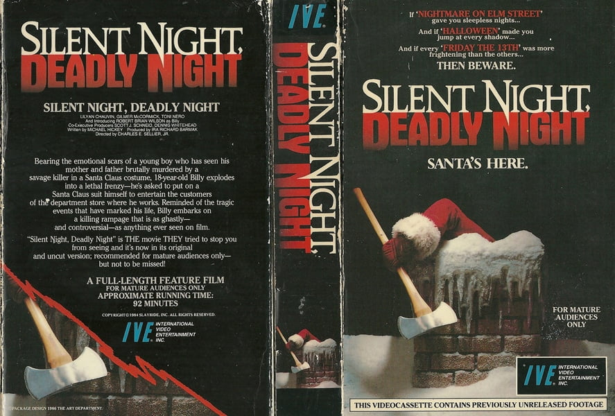 Silent Night Deadly Night Poster 1