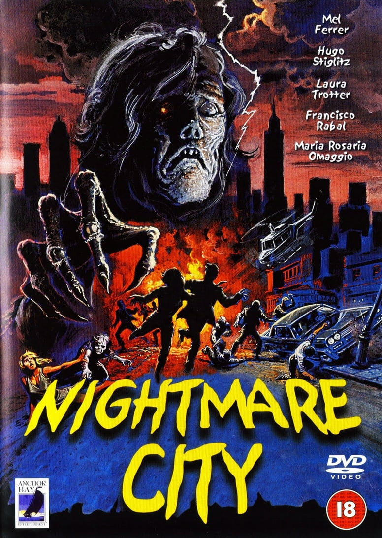 Nightmare City poster 1