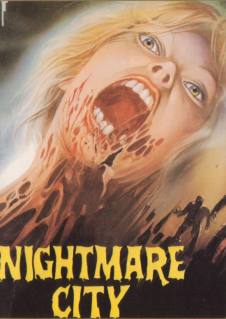 Nightmare City poster 4