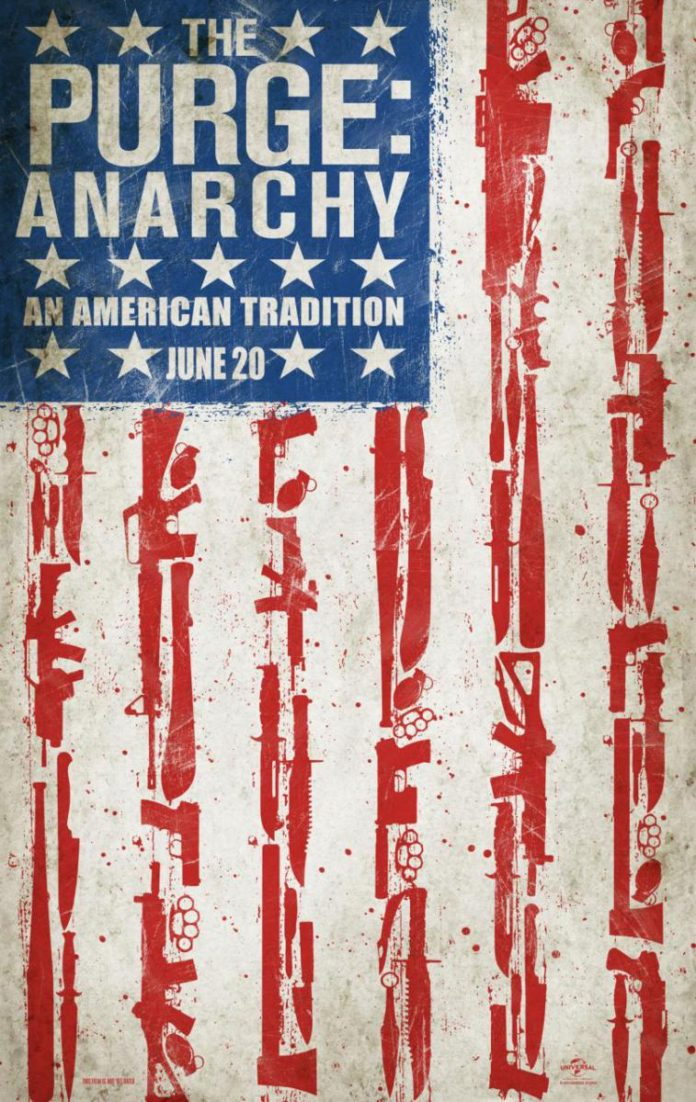 the purge 2 anarchy poster