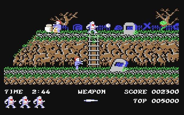 Ghosts N Goblins C64