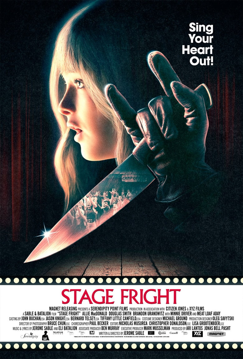 Stage Fright 2014 poster 2
