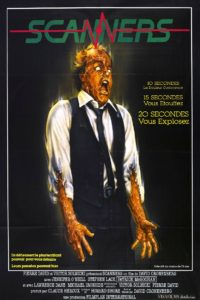 Scanners 1981 poster 2