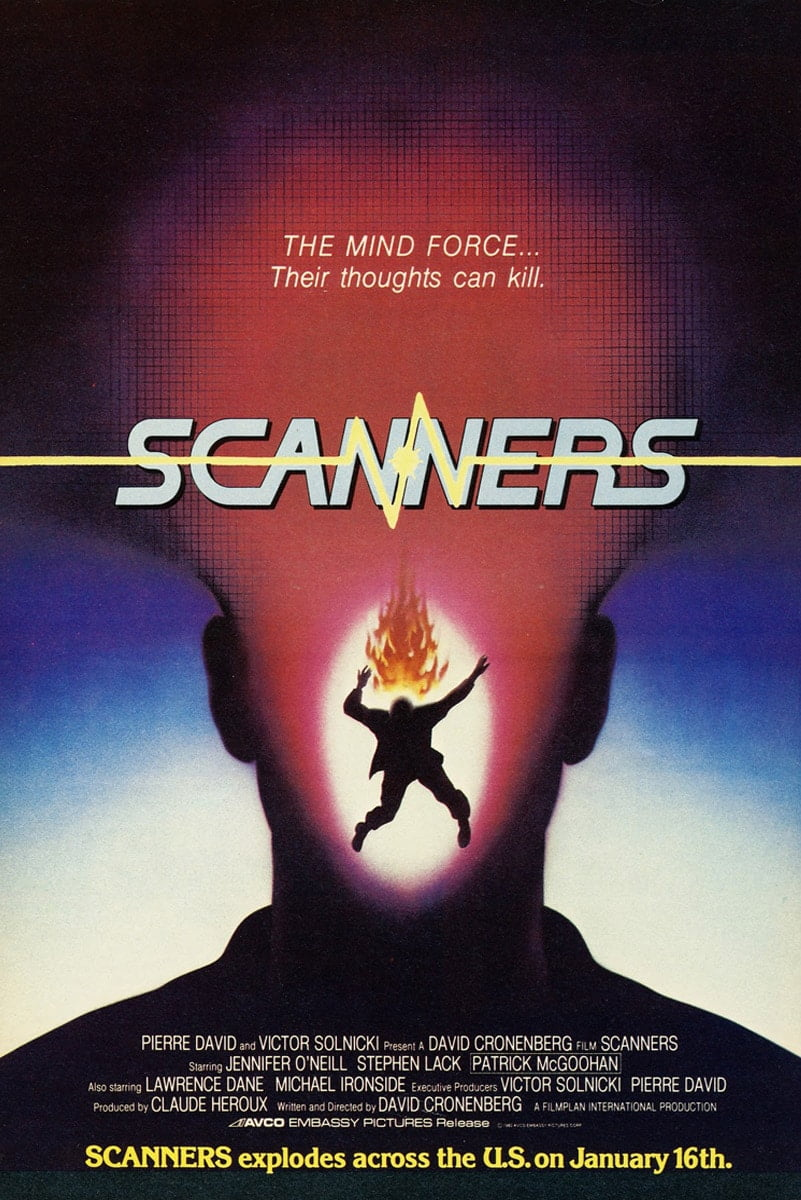 Scanners 1981 poster 3