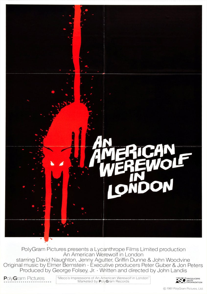 An American Werewolf in London Poster 2