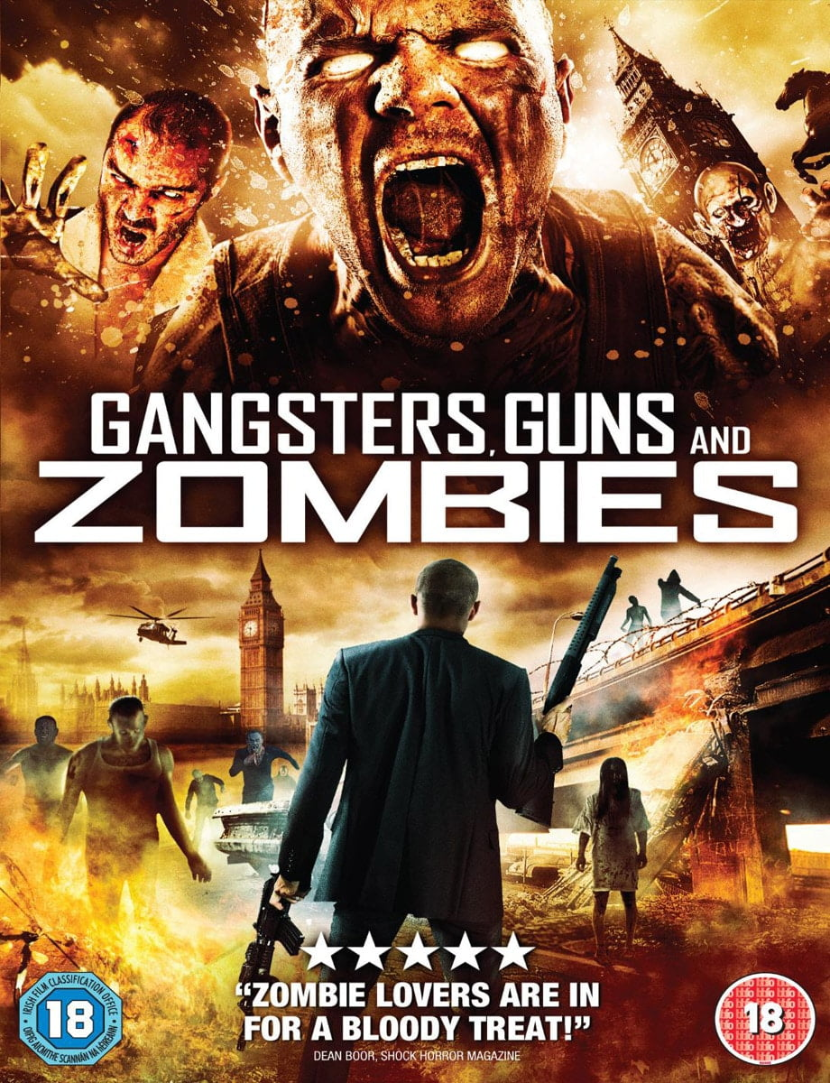Gangsters, Guns & Zombies Poster 2