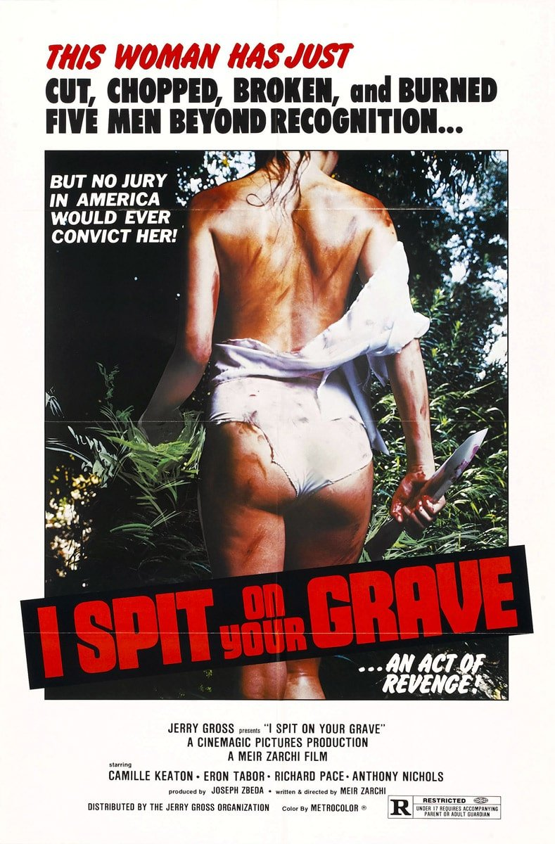 i spit on your grave 1978 poster 1