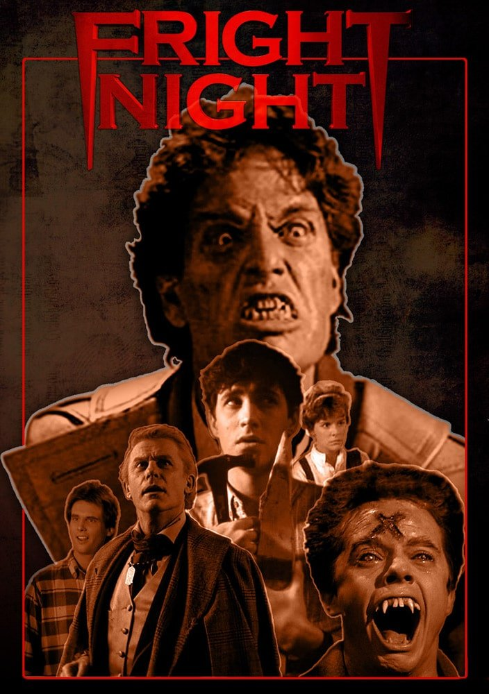 fright night 1985 poster