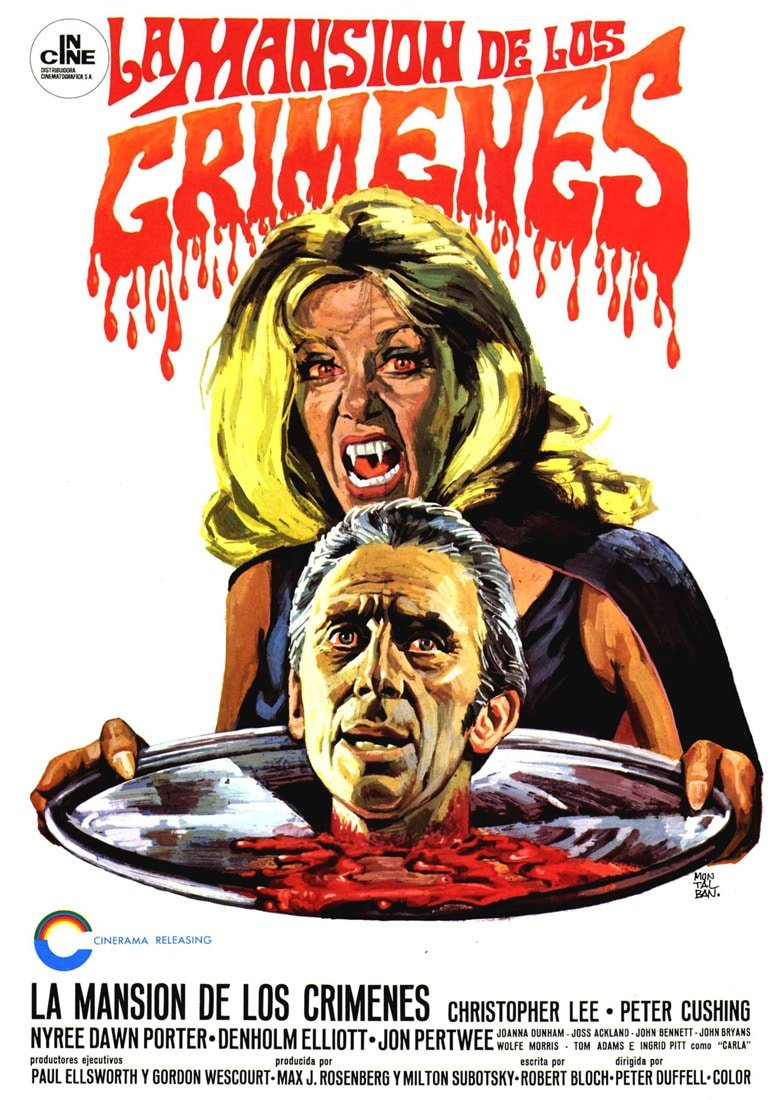 house dripped blood poster 1