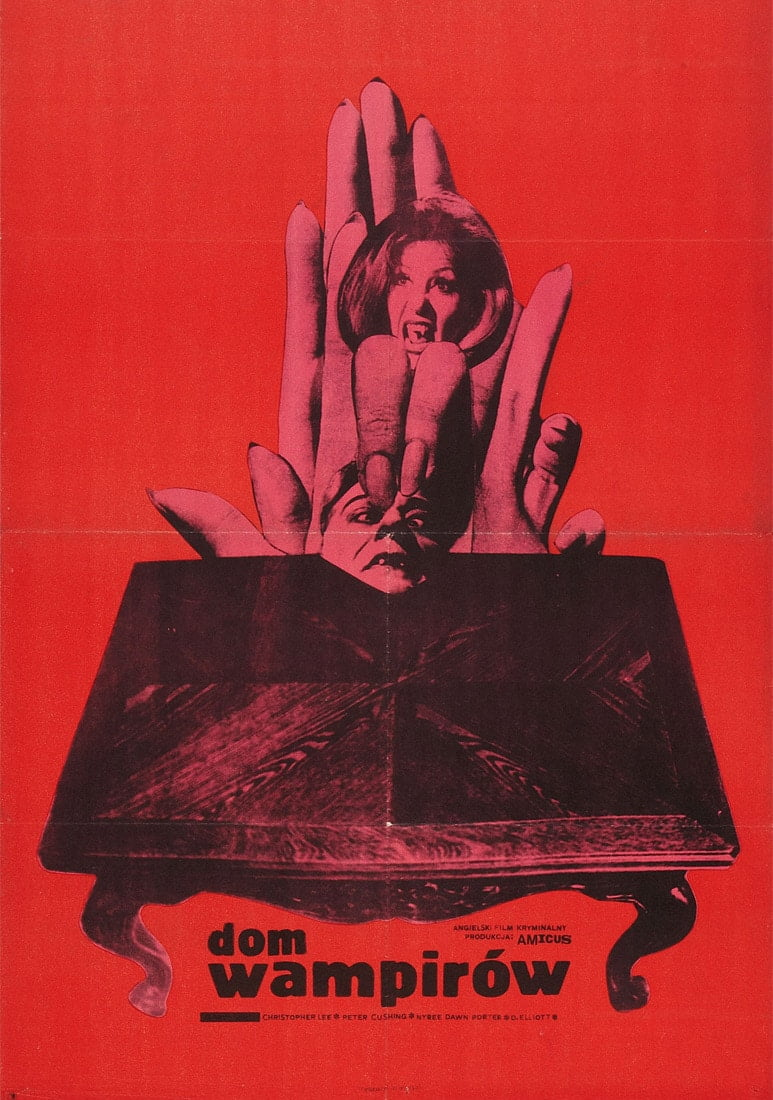 house dripped blood poster 2