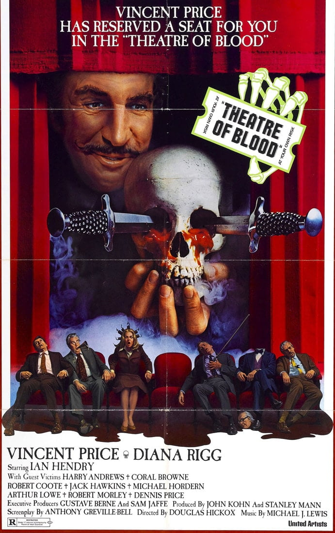 theatre blood 1973 poster 3