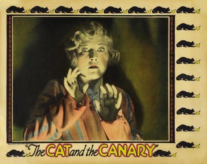 cat canary 1927