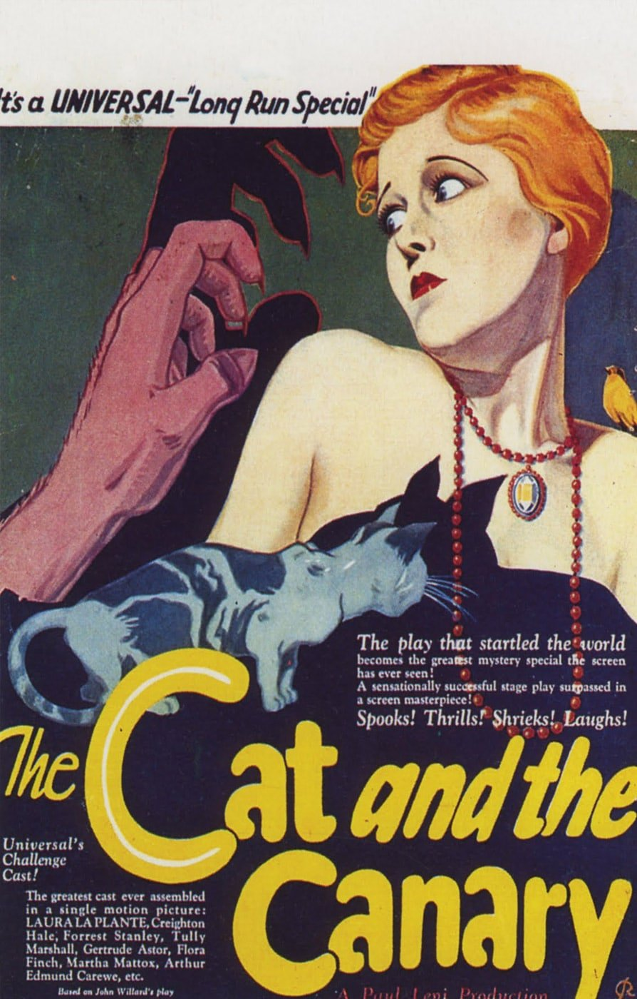 cat canary 1927 poster 4