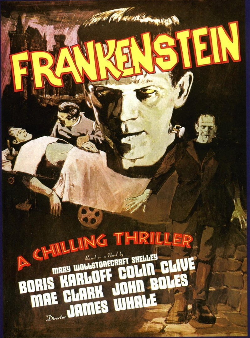 frankenstein 1931 poster 3
