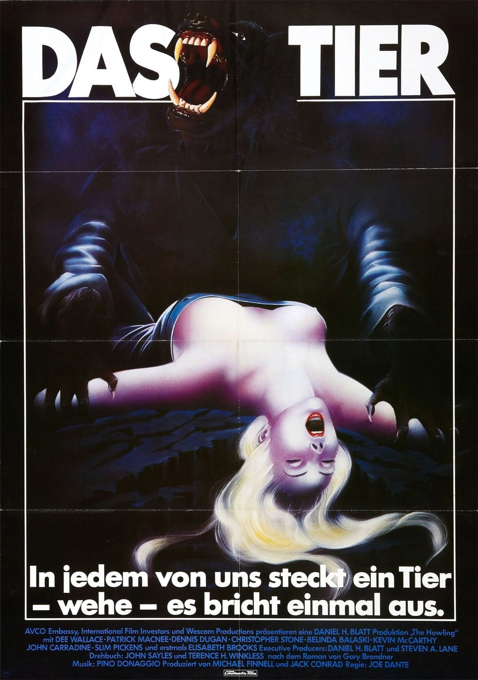 howling 1981 poster 4