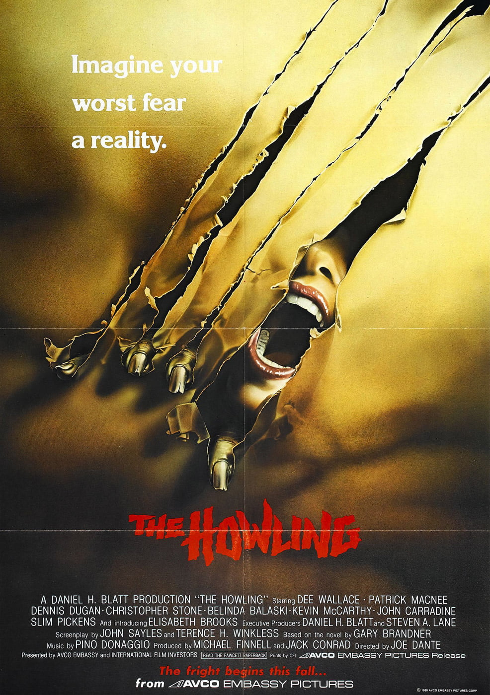 howling 1981 poster 5