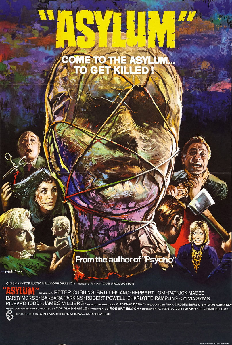 asylum 1972 poster