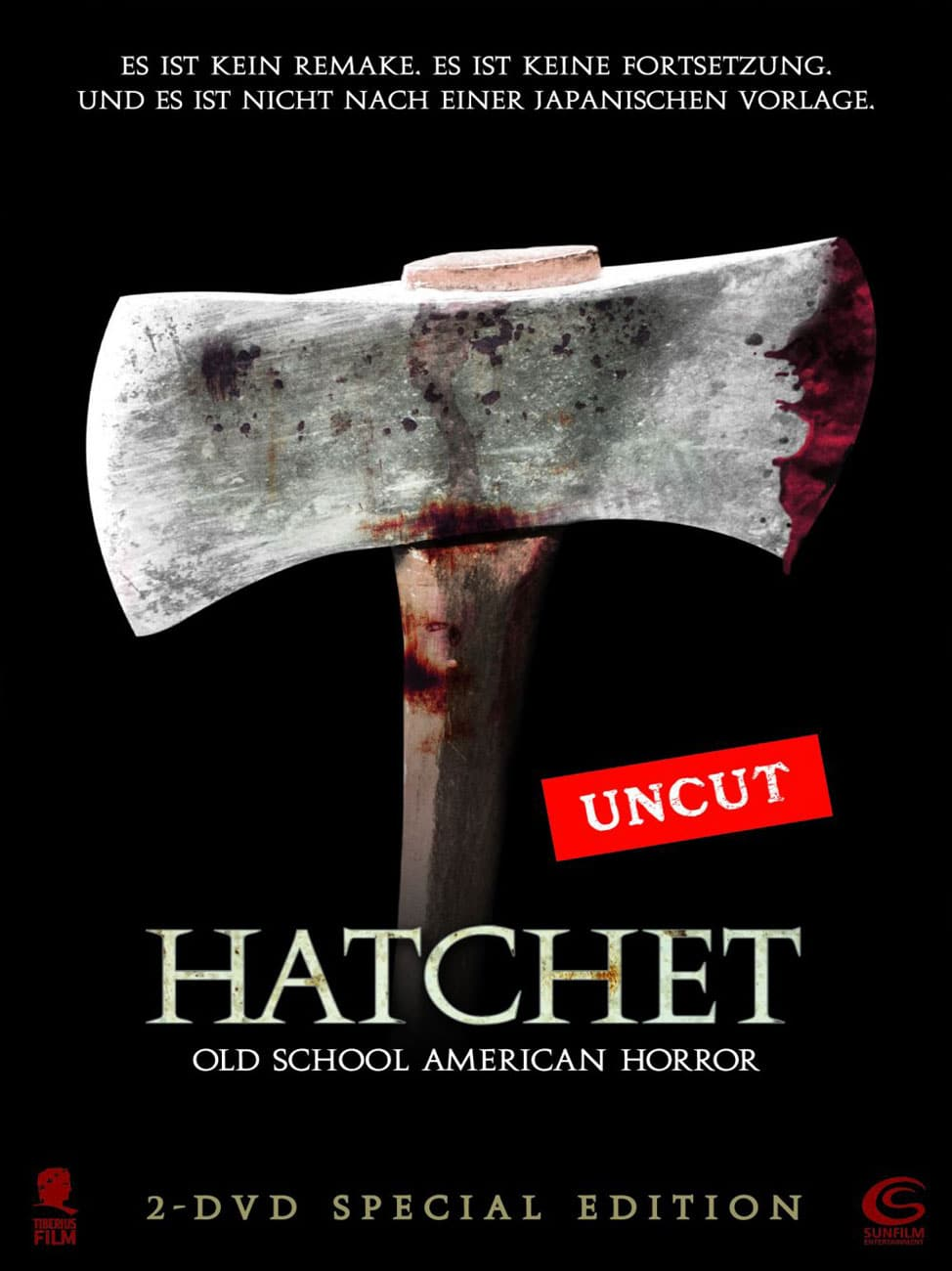 hatchet 2006 movie poster 2