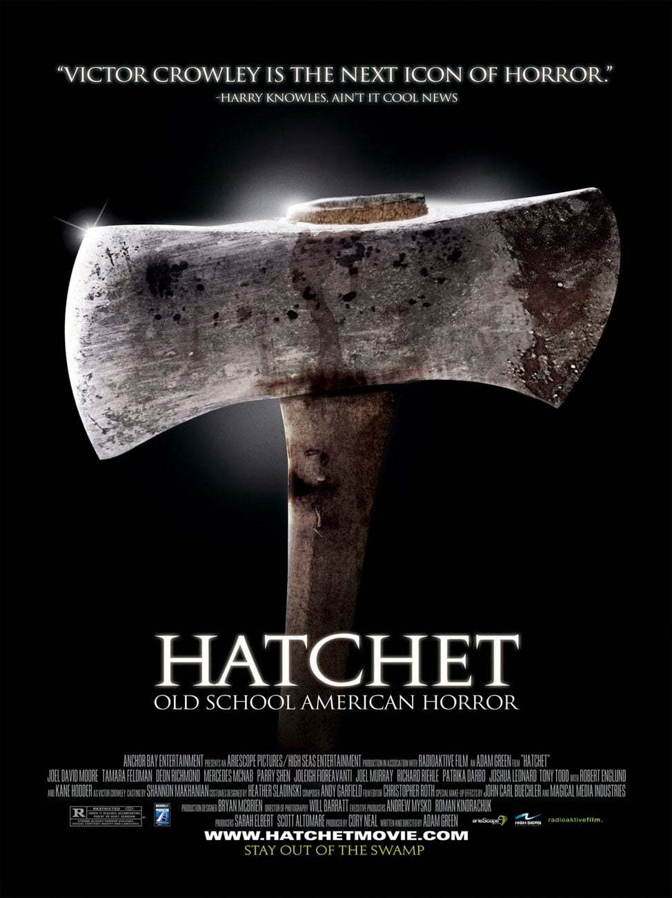hatchet 2006 movie poster 3