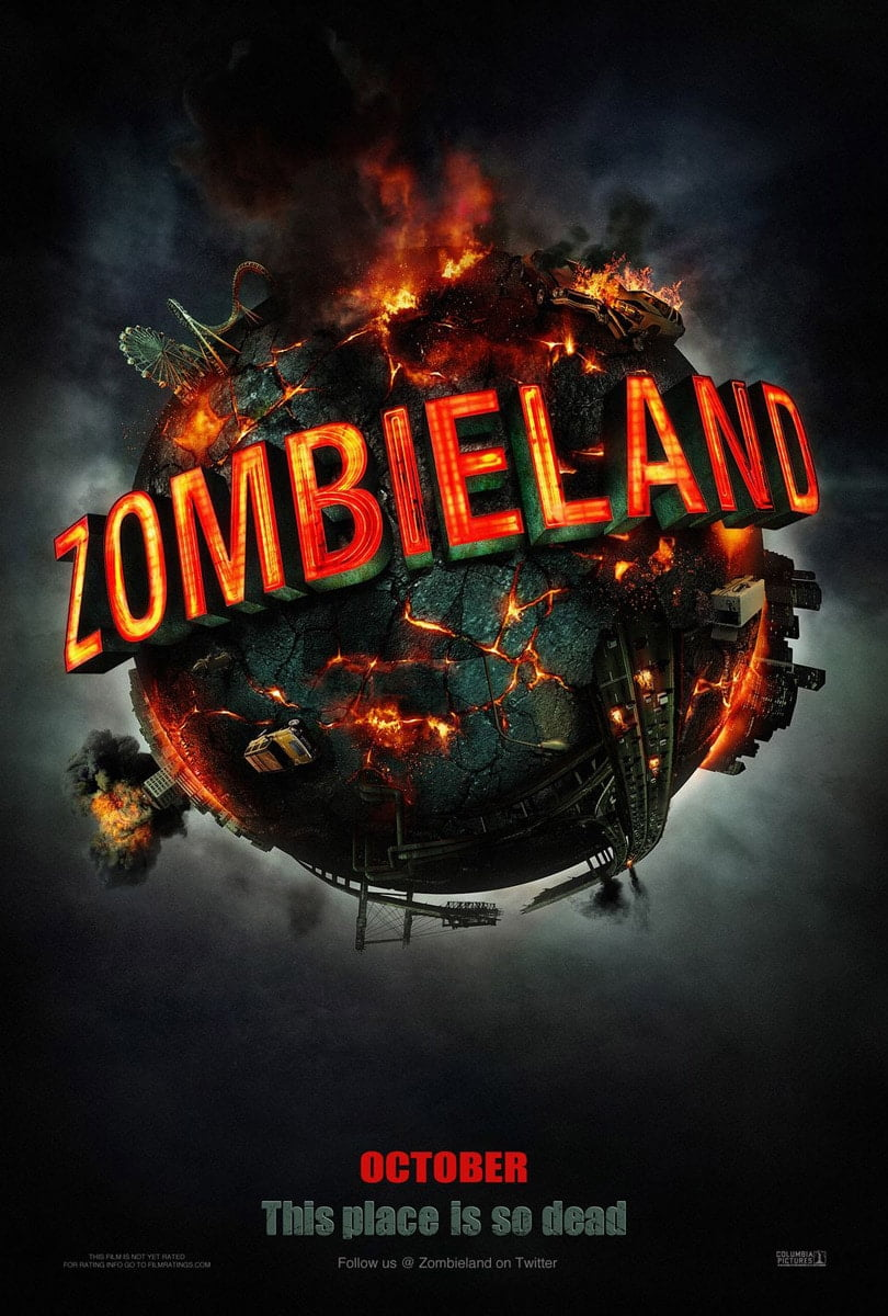 zombieland 2009 poster 1
