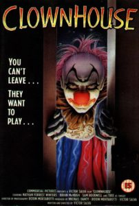 clownhouse 1989 poster 4