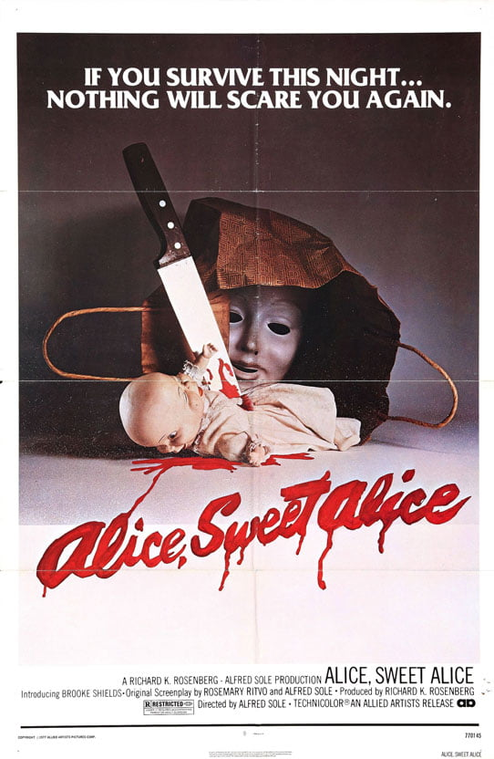 alice sweet poster