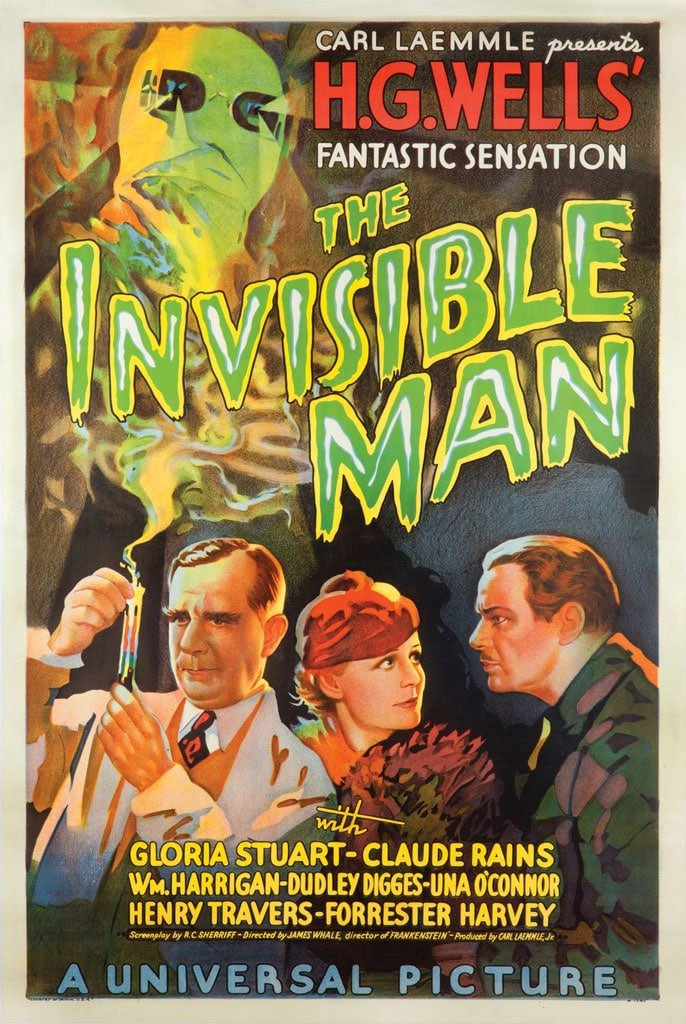 invincible man poster