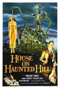 house haunted hill poster