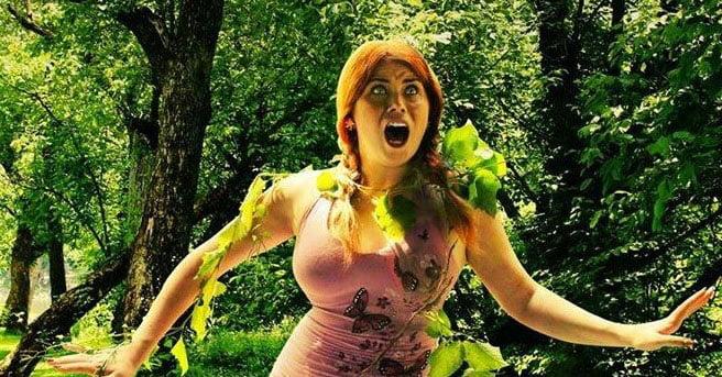 radioactive flesh eating foliage