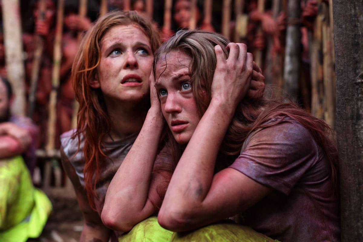 green inferno girls