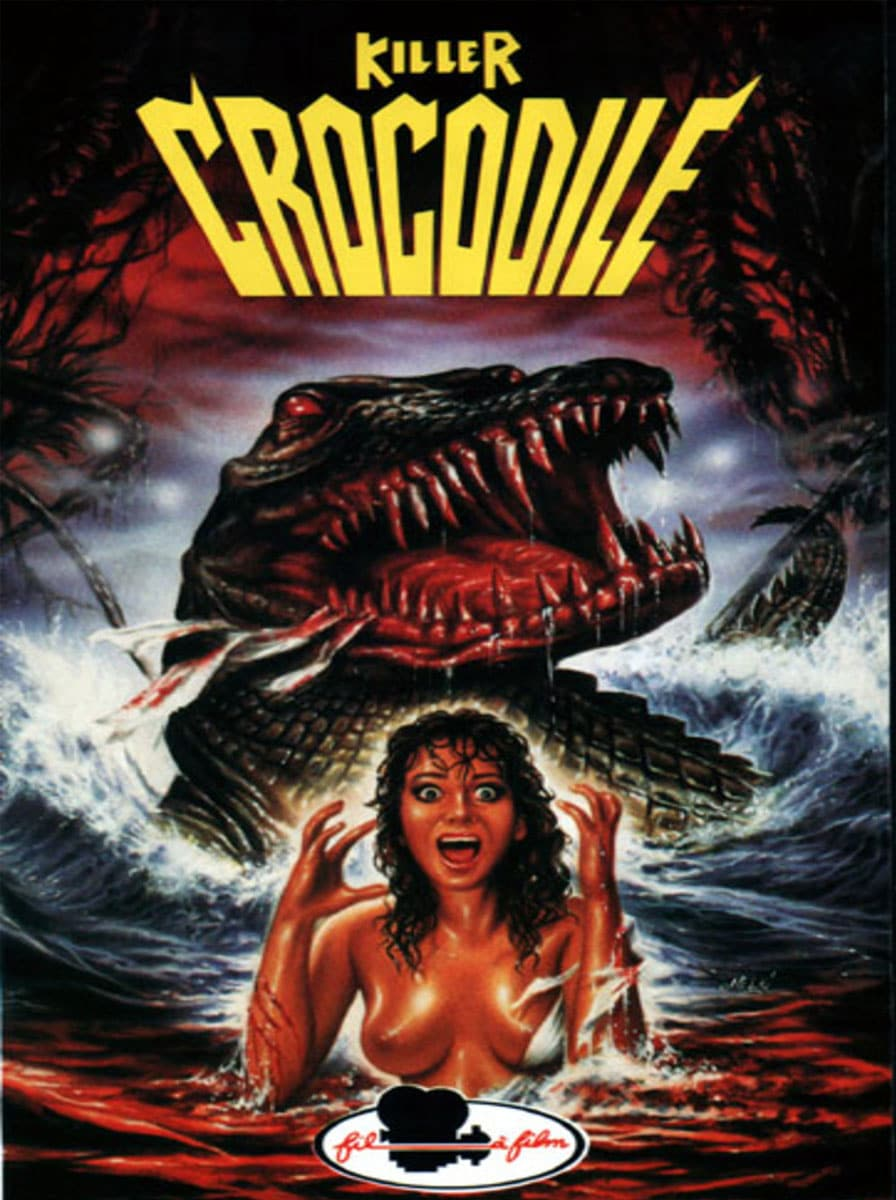 killer crocodile poster