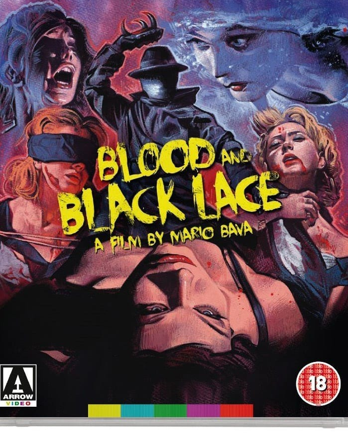 blood black lace review