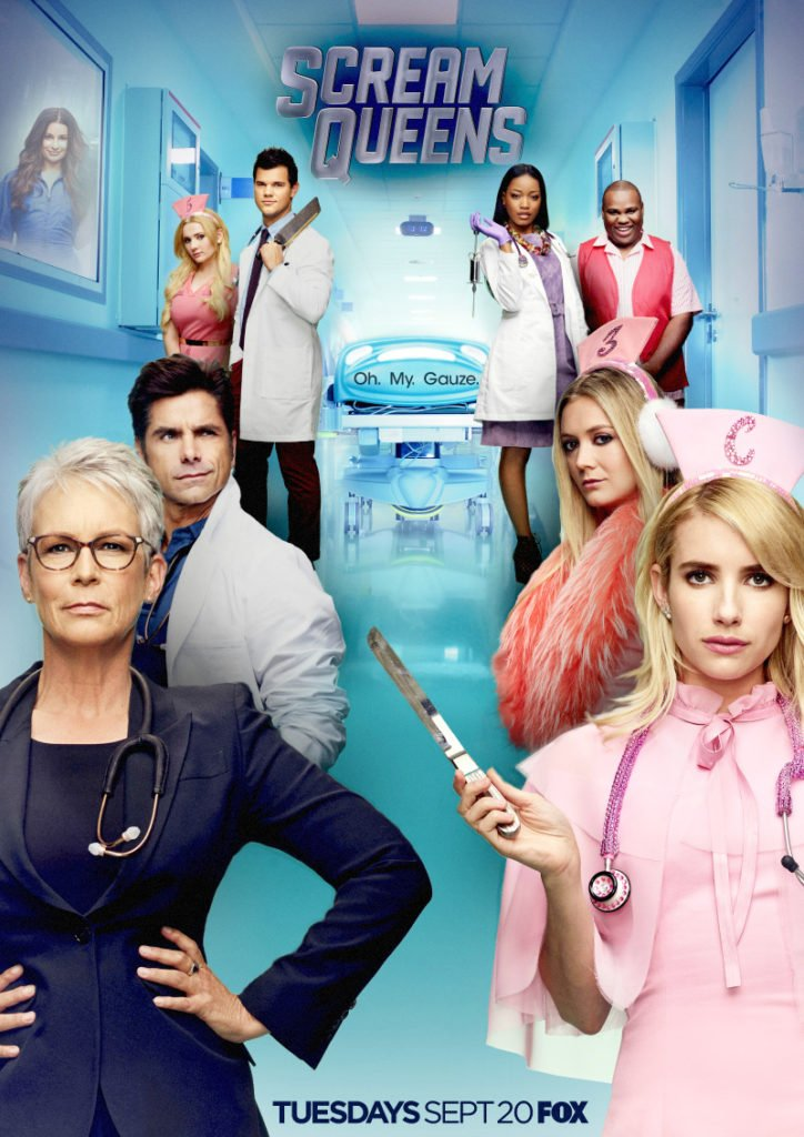 scream queens s2 poster