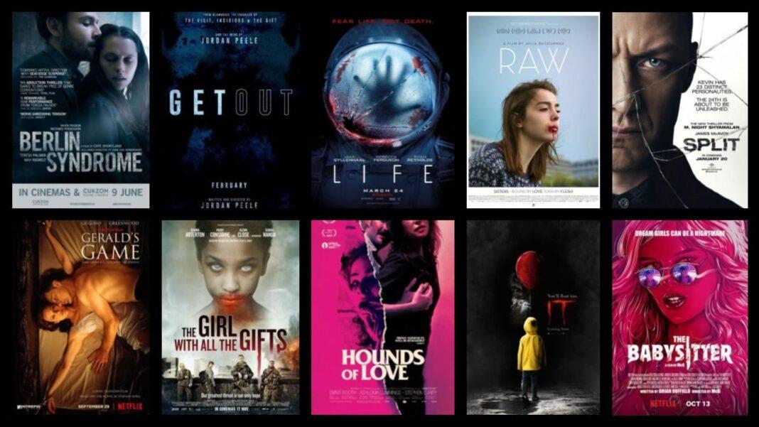 καλύτερες ταινίες τρόμου 2017