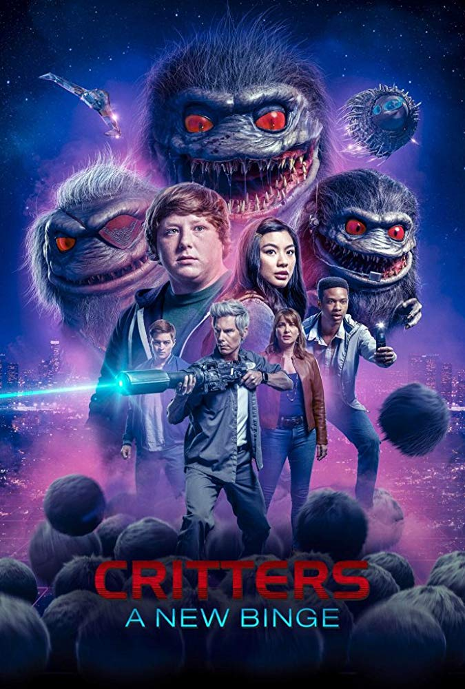 critters new binge poster