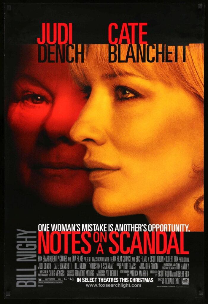 psychological thriller notes on a scandal