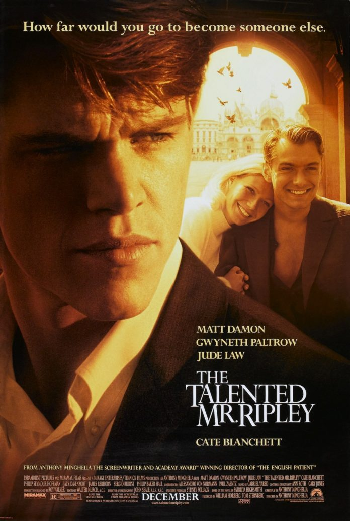 psychological thriller the talented mr ripley
