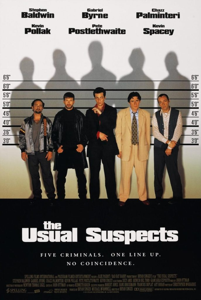 psychological thriller the usual suspects