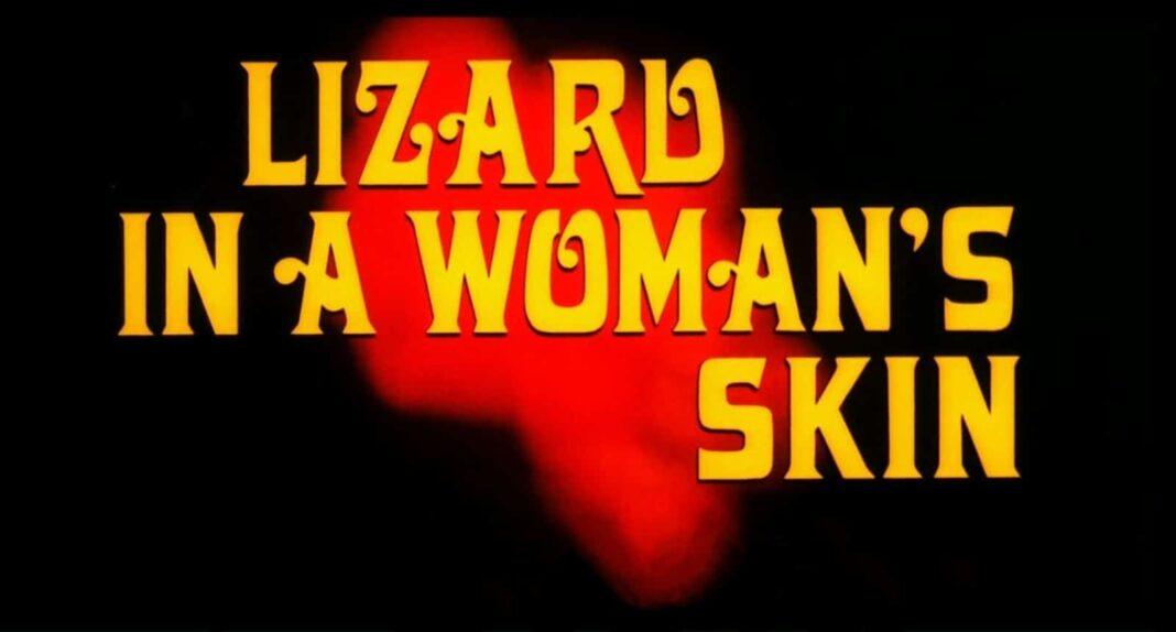 a lizard in a womans skin