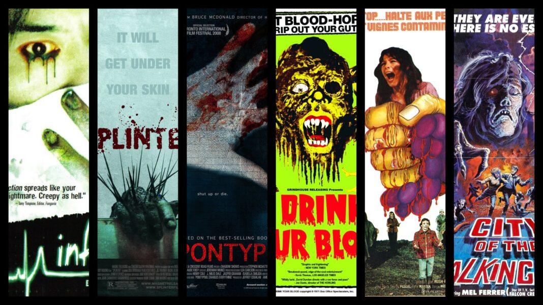 ταινίες τρόμου με ιούς και επιδημίες